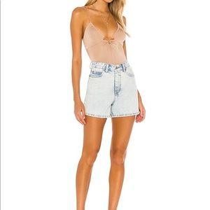 Dr. Denin light wash Jean shorts. Size 25